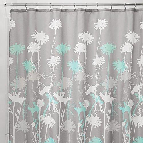 mDesign Daisy Shower Curtain - 72