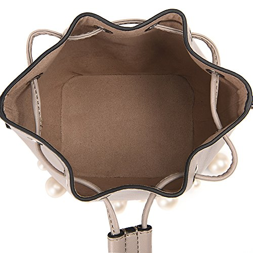 bag A single bags oblique Leather stylish shoulder cross Women pearl Axiba z6BxSS