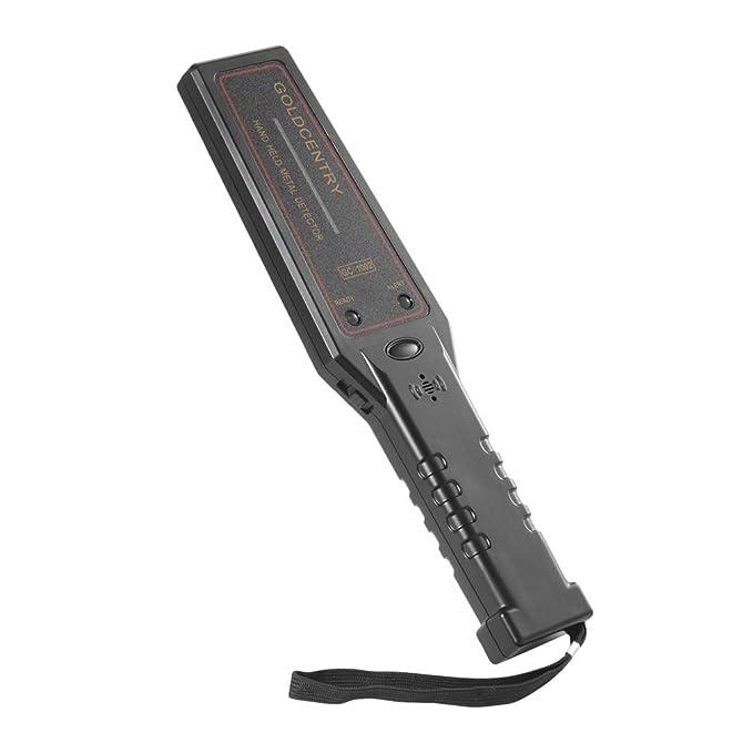 Detector de metales LESHP portátil de mano, magnifica herramienta de escáner portátil, buscador de metal subterráneo para armas ofensivas, bajo consumo de ...