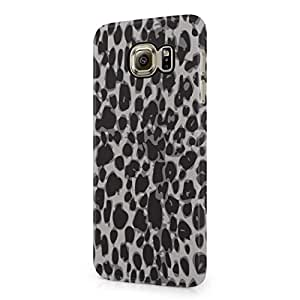 Leopard Fur Pattern Hard Plastic Samsung Galaxy S6 Phone Case Cover