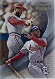 2016 Topps Gold Label Class 1 #87 Ozzie Smith St. Louis Cardinals Baseball Card in Protective Screwdown Display Case