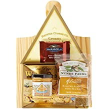 California Delicious Cheese and Crackers Gourmet Gift