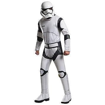 Disfraz adulto Deluxe Stormtrooper Blanco Star Wars VII ...