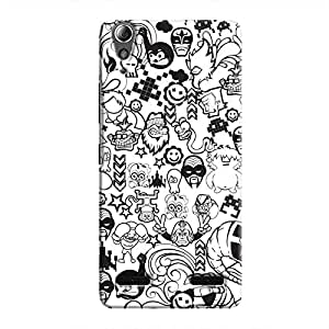 Cover It Up - B&W Stickers A6000Hard Case