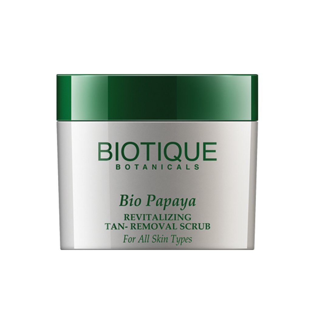 Biotique Papaya Smoothing and Revitalizing Scrub for All Skin Types Bio Veda Action Research Co RETMLLJ0016