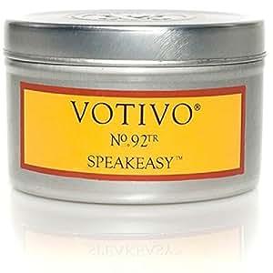 Amazon.com: Votivo Travel Tin Candle - No. 92TR, Speakeasy ...  Magnesium