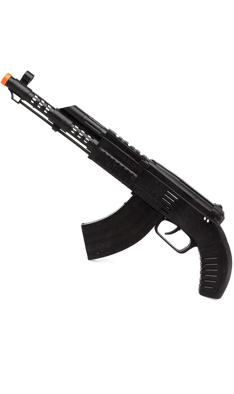 Atosa Metralleta Militar Negra 35 cm: Amazon.es: Juguetes y juegos