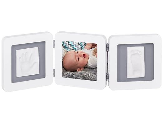 308 opinioni per Baby Art- 34120052- Double print frame- Portafoto con calco della manina o del