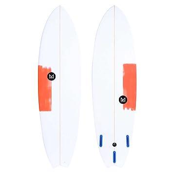 Tabla de Surf Mahalo 6 6 tevaa Fish, ...