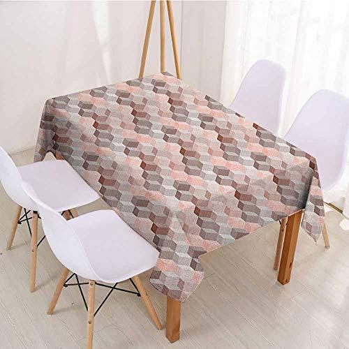 (ScottDecor Fabric Tablecloth Rectangular Polyester Tablecloth W 50