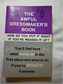 The Awful Dressmakers Book: Violet K Simons: Amazon.com: Books