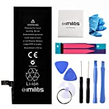 IMILITIS Battery for Apple iPhone 6 3.82v 1810 mAh Li-ion Polymer Battery with Complete Repair Replacement Kit Tools Adhesive Strips and Instructions (not 6S)