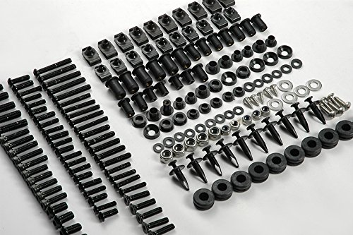 124PCS Black Fairing Bolt Kit Fasteners Screw DUCATI SUPERSPORT 620 750 800 900