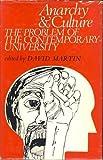 Anarchy and Culture, David A. Martin, 0231033176