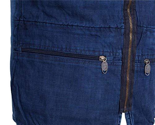 Libre Pocket Fashion Saoye Hombres Llevar Chaleco Multi Ropa Denim Hombres Aire Blue Chaleco Los Reporter Al Mangas Chaqueta Chaleco De Sin Oculto Ocasional De Fotografía Chaleco La CzwIwTqd