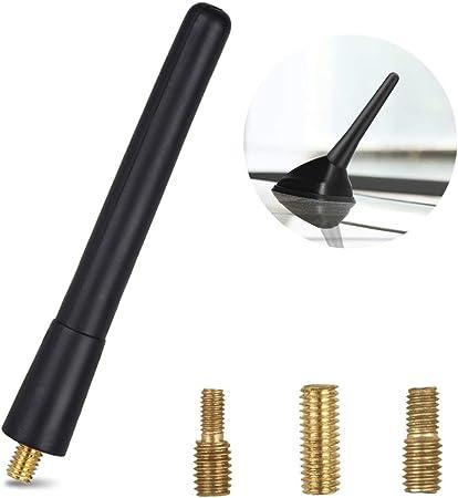 Antenne Dachantenne Kurzstabantenne KFZ Autoantenne 16V Stabantenne Kurz Adapter