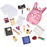 Our Generation 70.37326 Off to School Accessory Set, Multi-Coloured