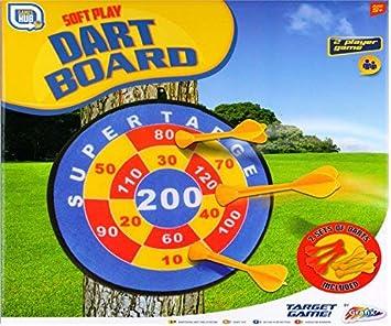 Grafix Sticky Target Dart Board Game Set Amazon Co Uk Toys Games