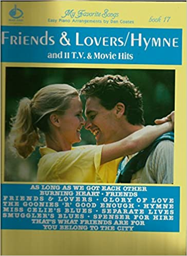 my favorite songs easy piano dan coates friends lovers hymne tv movies