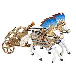Papo 39640 - Figura de carro egipcio y caballos