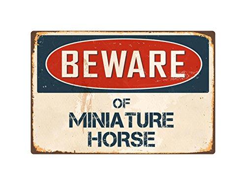 StickerPirate Beware Of Miniature Horse 8