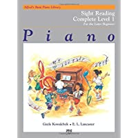 Alfred's Basic Piano Library Sight Reading Book Complete, Bk 1A & 1B: For the Later Beginner