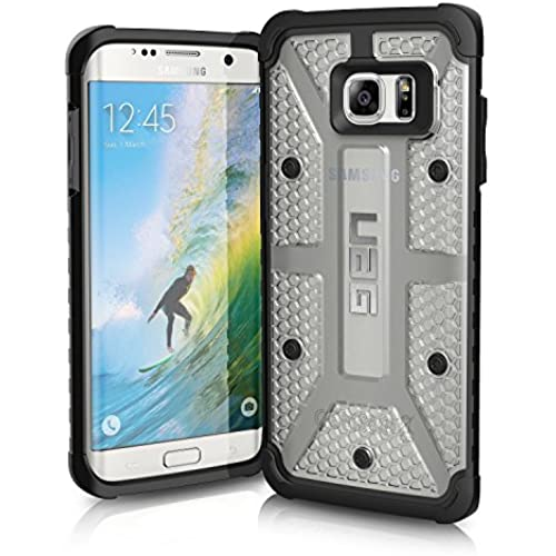 UAG Samsung Galaxy S7 Edge [5.5-inch screen] Feather-Light Composite [ICE] Military Drop Tested Phone Case Sales