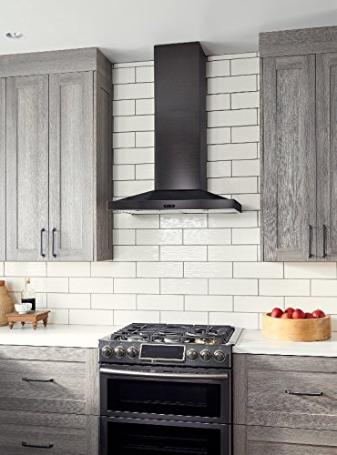 Broan EW5430BLS Elite Range Hood, 30'', Black Stainless by Broan (Image #2)