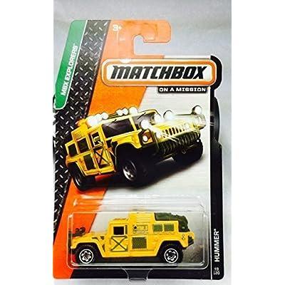 2014 Matchbox MBX Explorers - Hummer: Toys & Games