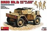 MiniArt 1:35 Scale Dingo Mk 1b British Armoured Car w/ Crew Plastic Model Kit