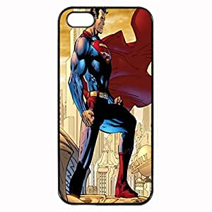 Batman and Superman Unique Custom Image Case iphone 5 case , iphone 5S case, Diy Durable Hard Case Cover for iPhone 5 5S , High Quality Plastic Case By Argelis-Sky, Black Case New
