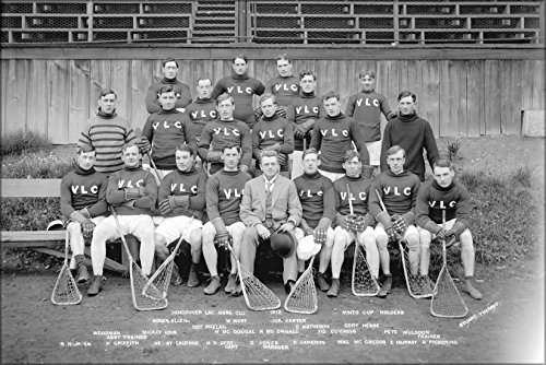 24x36 Poster; Vancouver Lacrosse Club, Minto Cup Holders, In
