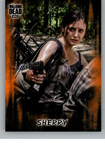 2018 Topps Walking Dead Hunters and the Hunted Orange #76 Sherry Trading Card