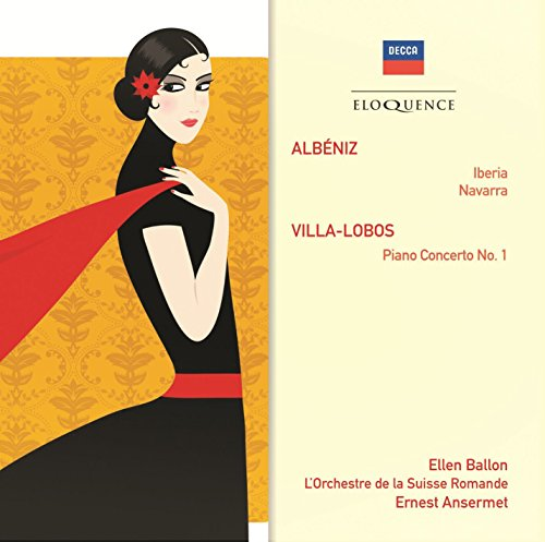 CD : Ernest Ansermet - Albeniz: Iberia / Villa-Lobos: Pno Cto No 1 (CD)