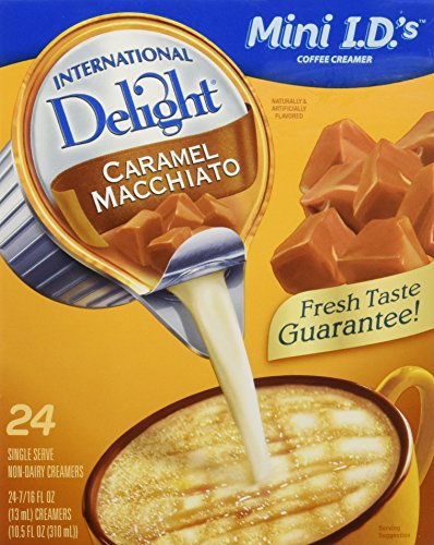 International Delight Coffee Creamer Singles CARAMEL MACCHIATO (24 servings)