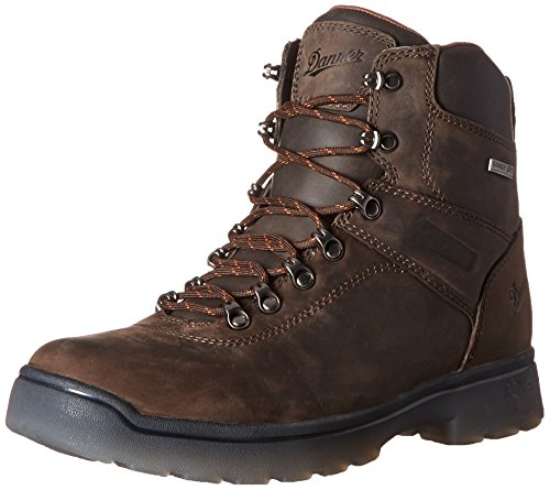 Polyurethane Mens Boots (Danner Men's Ironsoft 6 Inch Plain Toe Work Boot, Brown, 10.5 2E US)