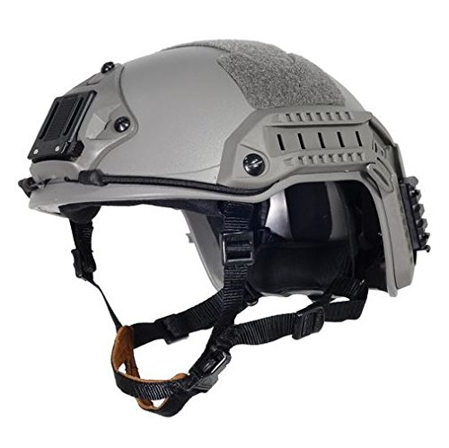AIRSOFT OPS CORE GREEN OD FG SWAT TACTICAL MARITIME FMA ABS HELMET JUMP RAIL M/L @ HELMET WORLD by FMA