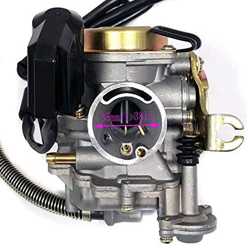 139QMB Carburetor for GY6 50CC 49CC 4 Stroke Scooter Taotao Engine 18mm carb+ Intake Manifold Air Filter by TOPEMAI by Auto parts (Image #6)