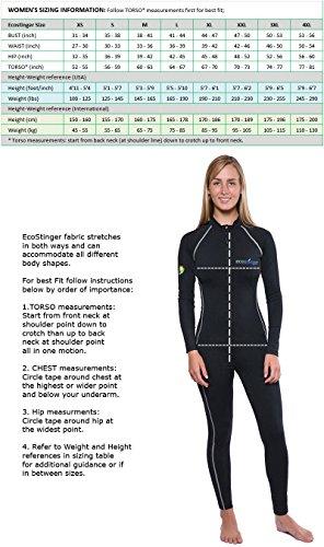 45c57352fa11e Women Sun Protection Full Body Lining UV Swimsuit Stinger Suit Dive Skin  UPF50+ best