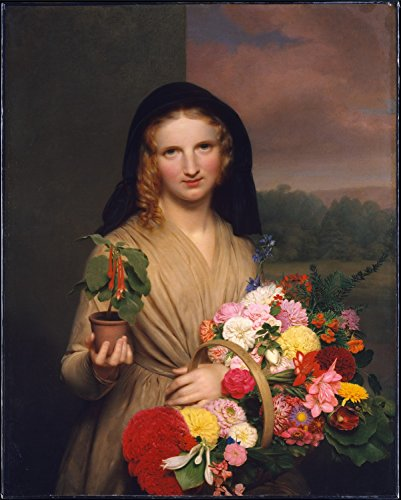 flower-girl-by-charles-cromwell-ingham-giclee-canvas-prints-16-by-20-unframed