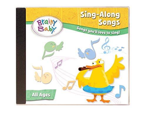 Brainy Baby Music (Music CD for Babies and Children Sing Along Songs CD by Brainy Baby)