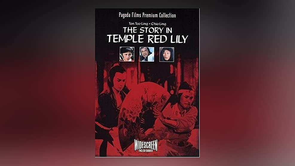 Story in the Temple Red Lily