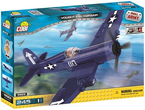 Cobi Small Army Military block WWII fighter # 5523 Vought F4U Corsair [COBI Japan regular sole agent] (Specifications Corsair F4u)