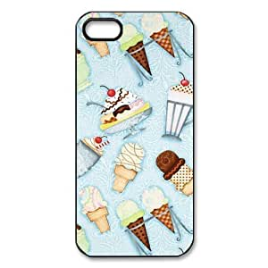 Custom Ice Cream Hard Back Cover Case for iPhone 5/5s