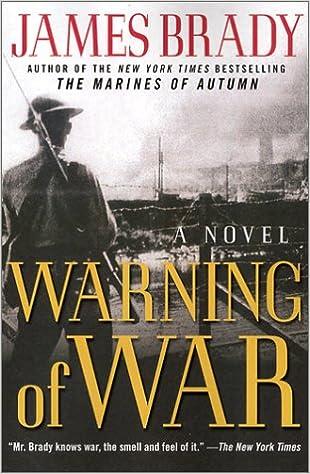 Warning of War: A Novel of the North China Marines