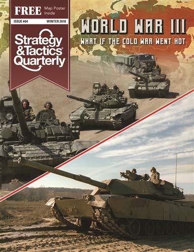 [해외]DG: 전략 & #4에서 80 년대에 제 3 차 세계 대전의 어떤 경우에 초점을 맞춘 전술 분기 / DG: Strategy & Tactics Quarterly #4 with a Focus on The What-if of World War III from The 50s to The 80s