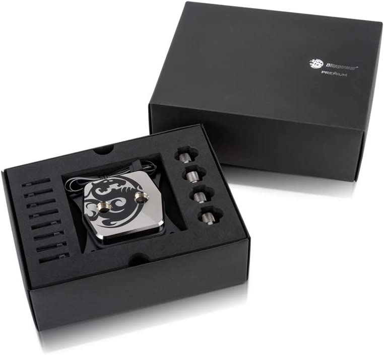 Gunmetal Edition Bitspower Premium Summit M CPU Water Block