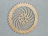 12'' Wood Wooden COG Gear Steampunk Wall Art Decor #7