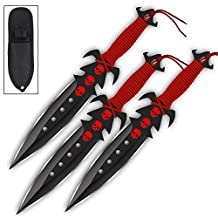 Ancestral Deadly Triad Throwing Knife Practice Set