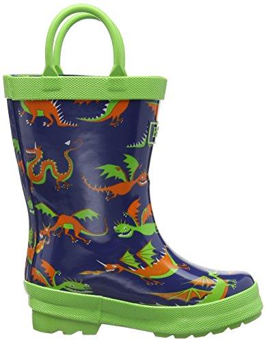 Hatley Fall Winter 15Dragons Boys Rain Boots Blue Blue 10 Child UK  28 EU Amazoncouk Shoes  Bags